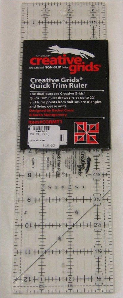 Creative Grids Quick Trim Ruler