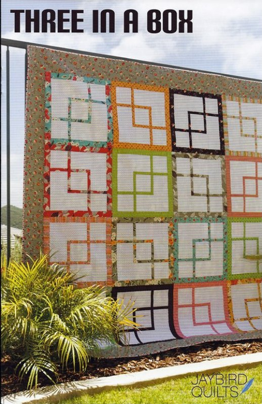 Three in a Box Quilt Pattern