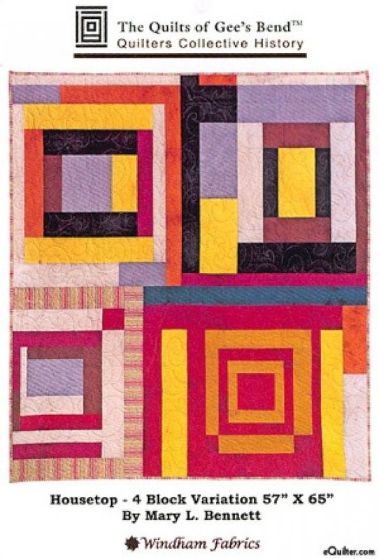 Gee's Bend Housetop 4 Block Variation Kit (91543)