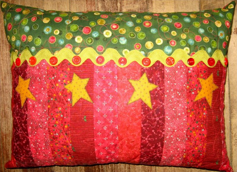 Holiday Stars Pillow