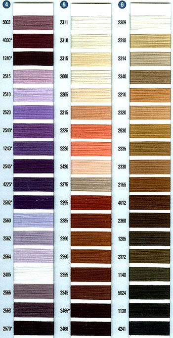 aurifil thread cotton color chart - Aurifil Thread Color Chart