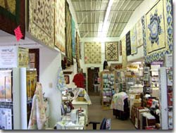 Crafty Corner Quilt and Sewing Shoppe Interior