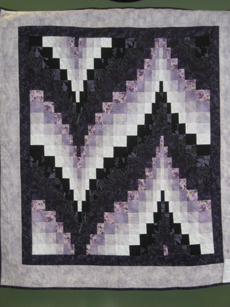 Bargello - Hand Quilted