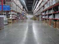 Floor Example of Harden X/ Harden X SI Concrete Hardener
