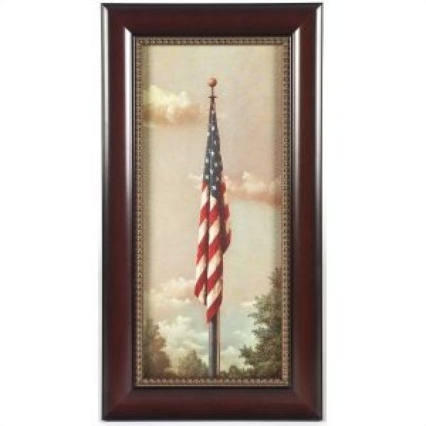 Executive Gallery painting of Our Flag by Fred Tripp, 1940