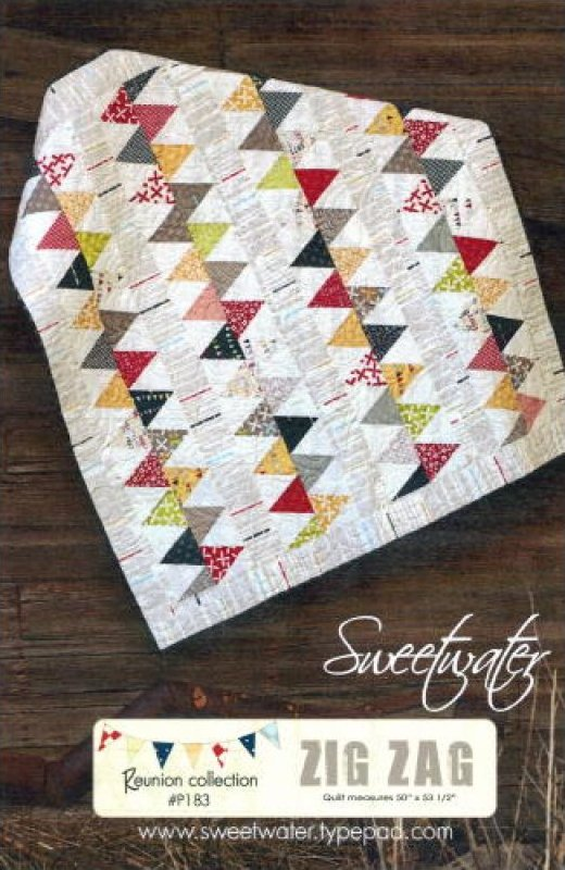 Moda - Sweetwater - Zig Zag Pattern