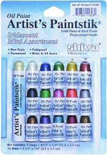 Shiva Paintstick Iridescent Mini Assortment Set of 15