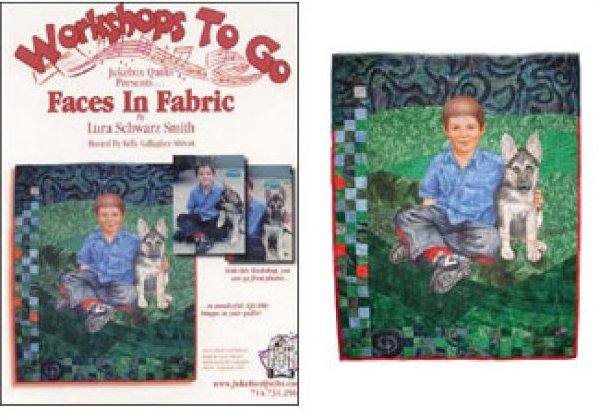 DVD - Faces in Fabric by Lura Schwartz Smith