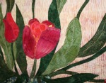 Tulip Wallhanging Detail