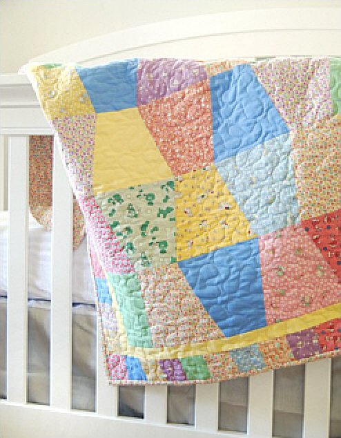 Pre-Cut Baby Quilt Kit (Click here for more detail)