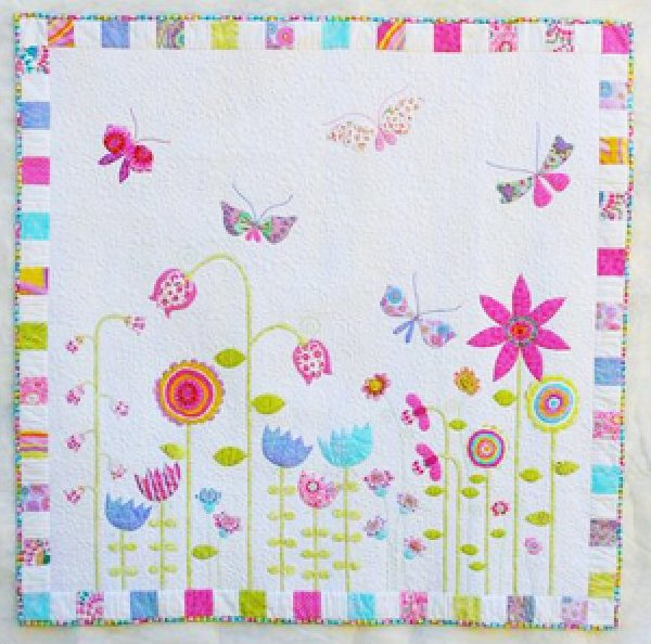 My Whimsical Quilt Garden by Piece O' Cake Designs