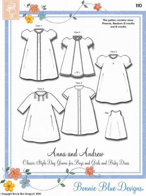 Bonnie Blue, Primrose Lane, Julia Golson Collar Patterns