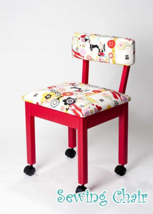 Limited Edition Red Alexander Henry Chair