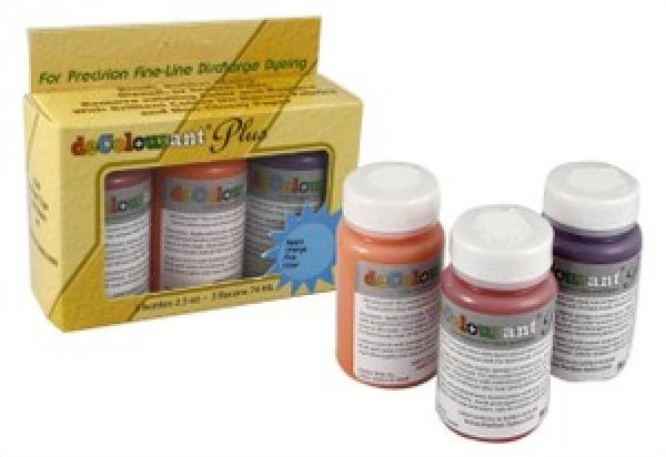 DeColourant Plus Dye Set 3 Pack Metallic