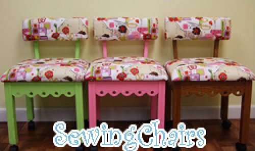Arrow Gingerbread Sewing Chair