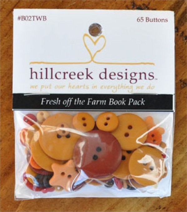 Fresh Off the Farm Book Button Pack