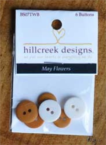 May Flowers Button pack
