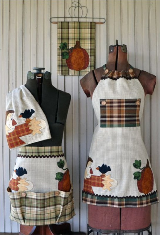 Just 2 Tea Towels- Fall Set