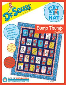 Seuss Bump Thump Quilt Pattern