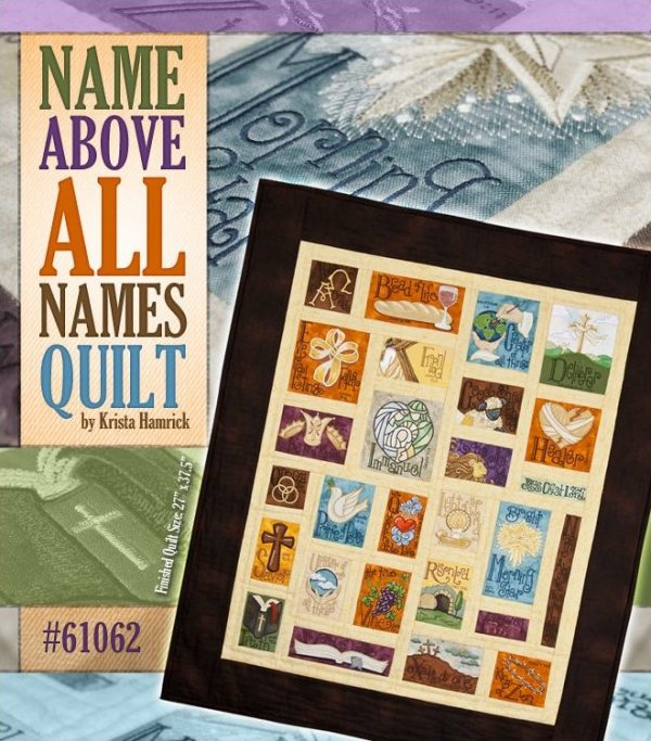 Name Above All Names Quilt Kit