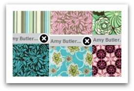 Fabric Design Wall for Quilt Store Websites