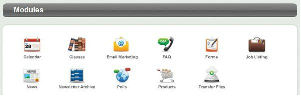 Our Content Management System has many features.