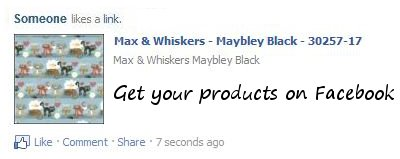 Get your products on Facebook.            &lt;td colspan=