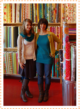 Mother-Daughter Owners of Sew to Speak