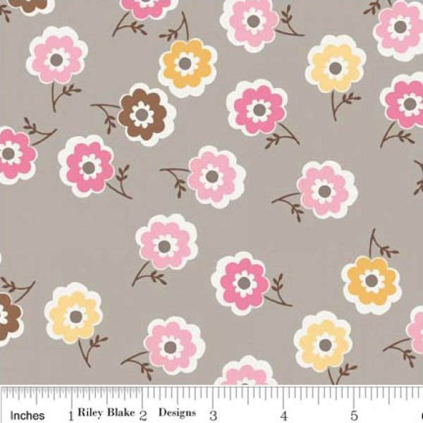 Riley Blake Fabric Daisy Cottage Mini Floral
