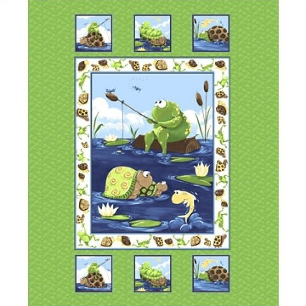 Susybee paul sheldon fish for Fishing themed fabric