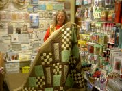 Sleepy Valley customer Marlene Moore made this fantastic quilt for a lucky family member!