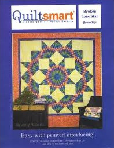 Quilt Smart Interfacing for making Broken Lone Star