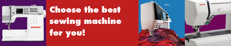 Choose the best sewing machine for you at A Common Thread, Portland, Oregon