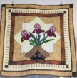 iris wallhanging