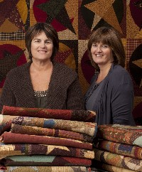 Pam Soliday (left) and Janet Nesbitt (right)