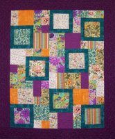 """Purple Paradise"" by Julie Holbrook 2012 Pattern is ""Perfect Ten"""