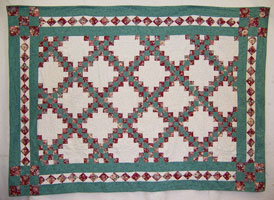 Stephanie's first quilt