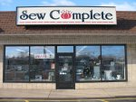 Sew Complete Store Front - Fabric and Sewing Machine Shop