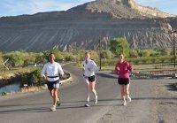 2012 Little Grand Canyon Marathon Runners