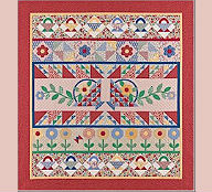 Block of the Month Aunt Grace's Garden Party