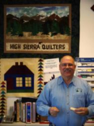 Doug of High Sierra Quilters - Fabric Shop