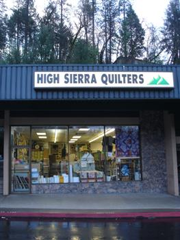 High Sierra Quilters Shop - Placerville, CA