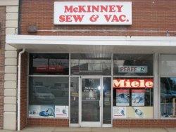 McKinney Sew & Vac Exterior