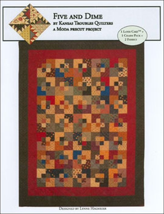 Pattern - Five & Dime Quilt - Includes Template from Kansas Troubles