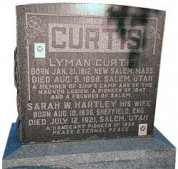 Lyman Curtis Headstone