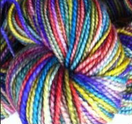 Multi colored Yarn Ball