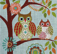 Owl Needlepoint Pattern