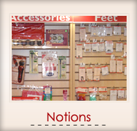 Notions and Accessories for Sewing Machines and Vacuums