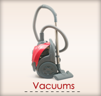 Sales and Service of Vacuum Cleaners