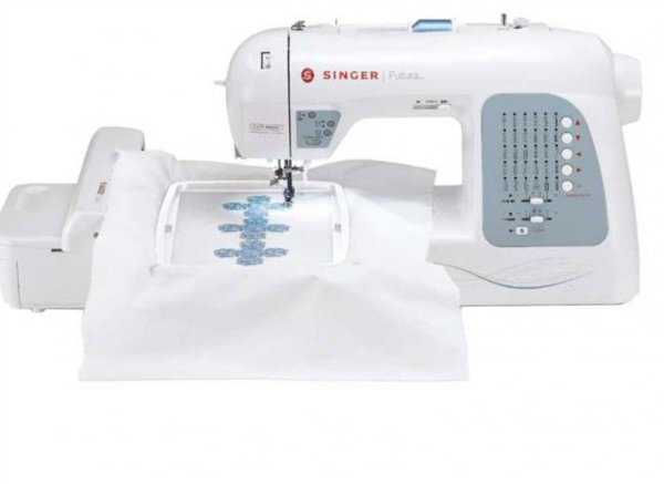 Singer Futura XL-400 w/ 3900 FREE Embroidery Designs